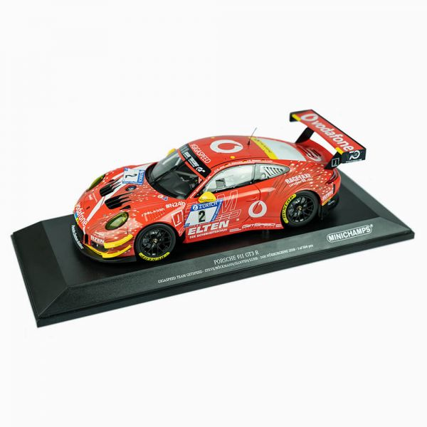 IRONFORCE Porsche 911 (991) GET SPEED GT3R 24H-2018-1:18 - Minichamps