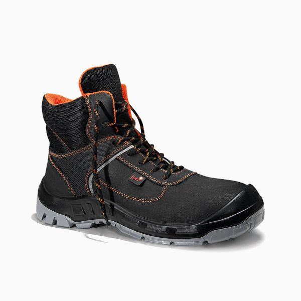JORI Sicherheitsstiefel jo_COLOUR orange Mid S3